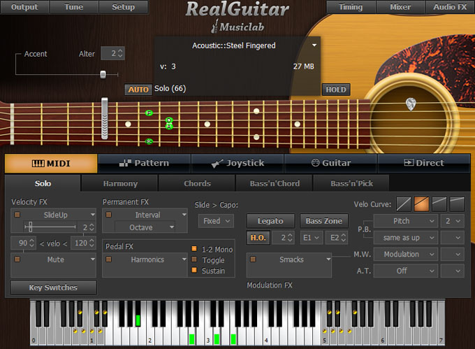 Musiclab Real Guitar - Wind Over the Earth